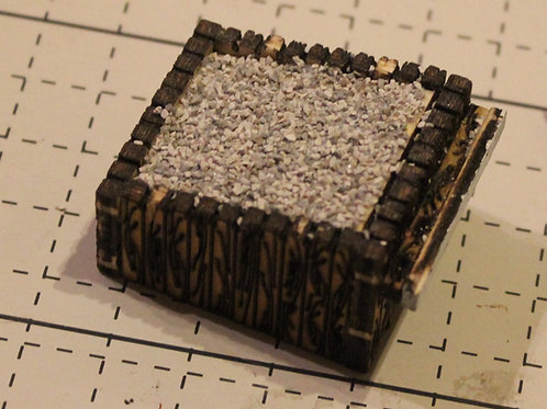 HO or OO scale Bunker StyleBuffer Stops. - Pack of Five