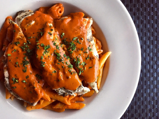Penne & Palomino Sauce with Chicken