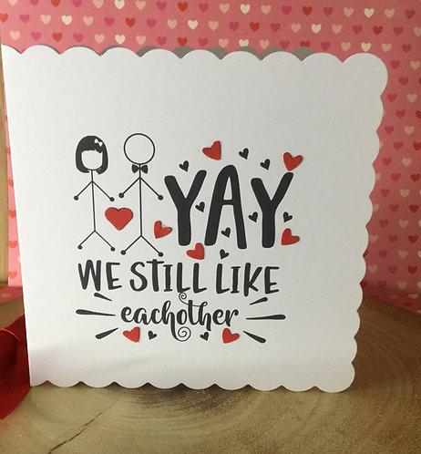 Yay Valentines Day