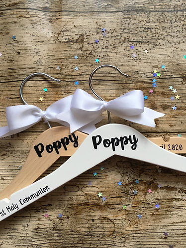 Personalised First Holy Communion Hanger