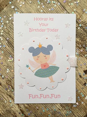Fairy Princess, Magical Themed, Birthday Card
