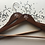 Thumbnail: Mr and Mr Hangers, Set of 2, Wooden Hangers