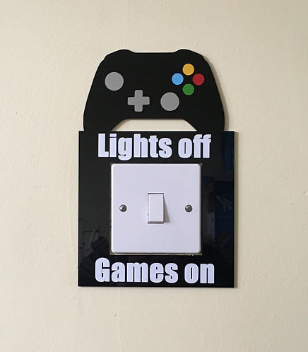 Light Switch Surround Games Controller