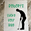 Thumbnail: Personalised Large Canvas Lucky Golf Bag