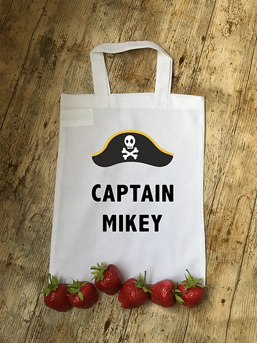 Pirate Themed Personalised Party Bag