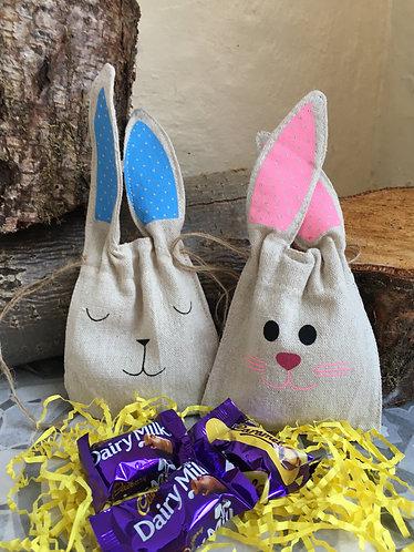 Easter Bunny Personalised Treat Bag