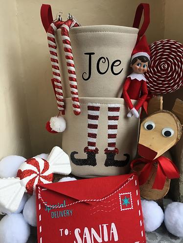 Christmas Eve Bucket Personalised