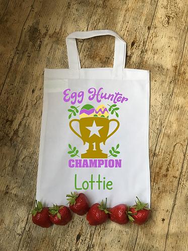 Personalised Egg Hunter Champion Bag