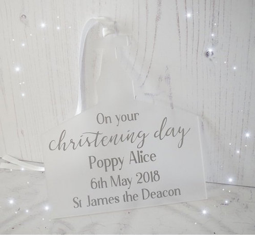 Personalised Christening Gift Church