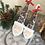 Thumbnail: Set of 2 Nordic Handpainted Santa, Scandi Santa