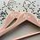 Thumbnail: Mrs and Mrs Hangers, Set of 2, Wooden Hangers