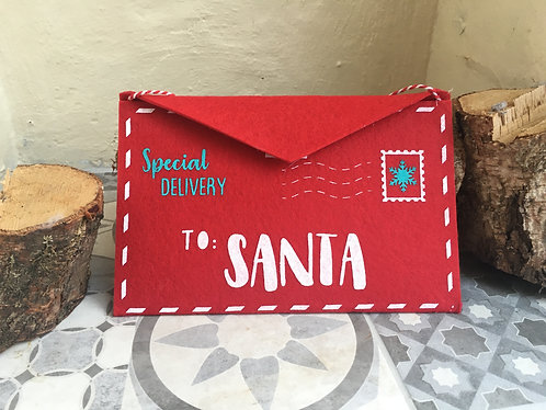Personalised Large Letter to Santa Envelope
