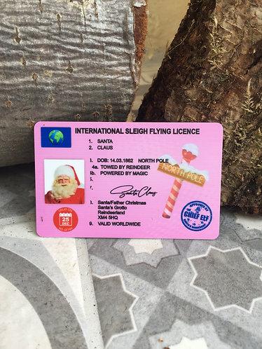Santa's Lost Driving License