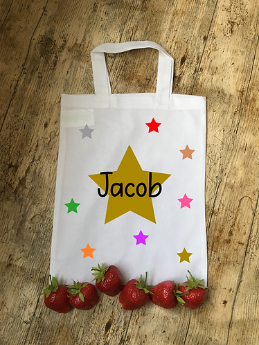 Stars Themed Personalised Party Bag