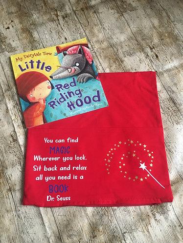 Pocket Book Reading Cushion - Dr Seuss