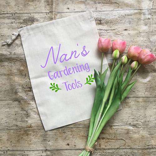 Nan Personalised Garden Tool Bag