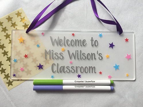 Teacher Thank You Gift - Classroom Sign