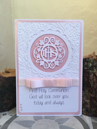 First Holy Communion Confirmation card
