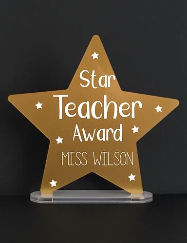 Star Teacher Award