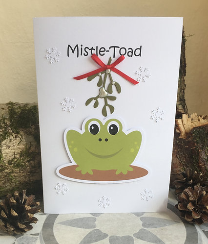 Mistle - Toad Christmas Card