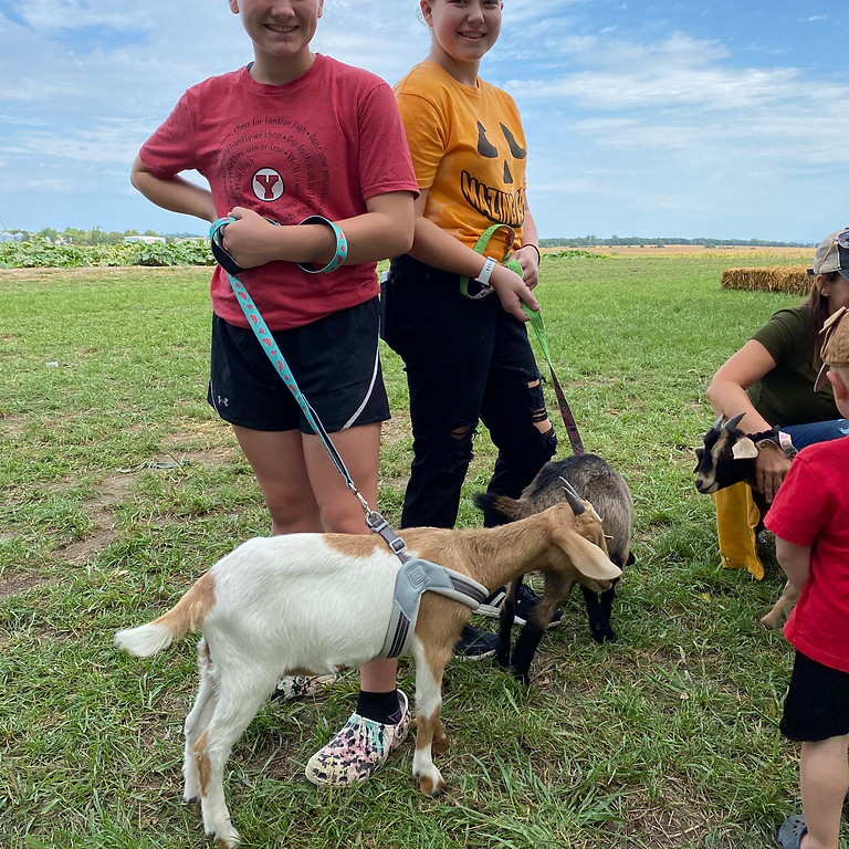 Halloween Bash at the Patch with Goats & Giggles