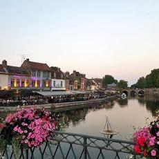 Le quartier Saint Leu d'Amiens par @nicolaspix