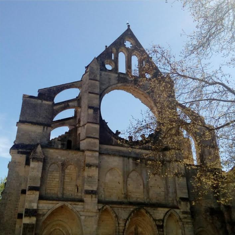L' Abbaye de Longpont par @paulineswgdw