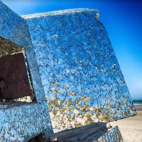 Le Blockhaus de Leffrinckoucke par @reves_de_panda