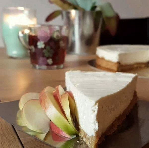 Le fameux No-Cheesecake vegan