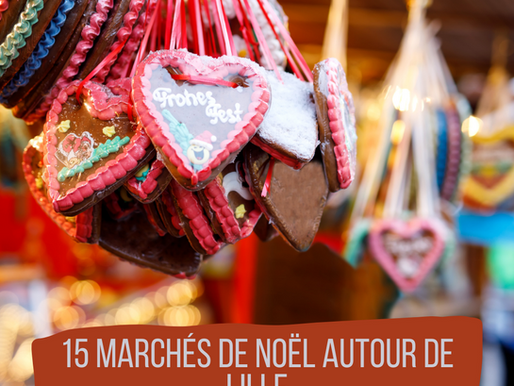 Top 15 des Marchés de Noël Autour de Lille