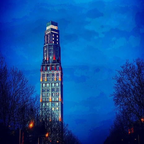 La tour Perret d'Amiens par @rockndcrazy