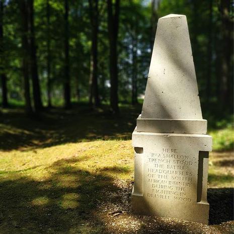 Le mémorial de Longueval par @weekend_en_hautsdefrance