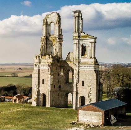 L'abbaye du Mont Saint Eloi par @artoisbalade.fr