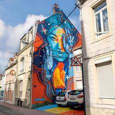 Parcours Street Art à Boulogne sur Mer par @geektouristique