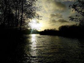 lacs villeneuve d'ascq coucher de soleil