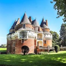 Le château de Rambures par @enjoy_hope