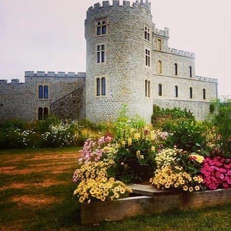 Le Château d'Hardelot par @tresor_dopale