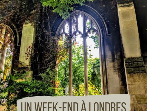 Londres : un week-end so British !