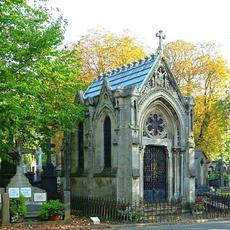 Le cimetière de l'Est par @romycherry_onthecake