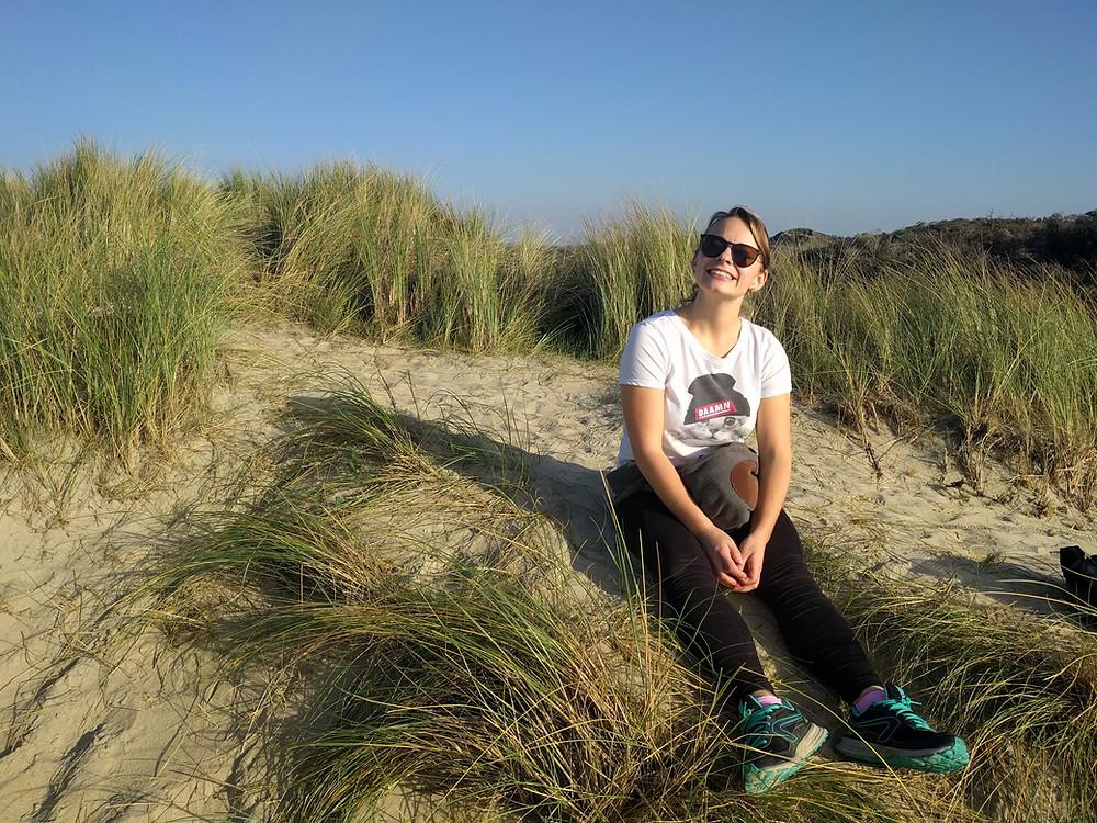 dune du perroquet sable plage du nord mer du nord
