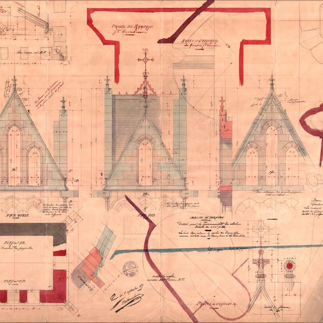 Recherches sur l'Eglise de Dormans.
