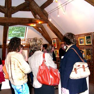 Salon de Printemps 2002 grenier du Moulin.
