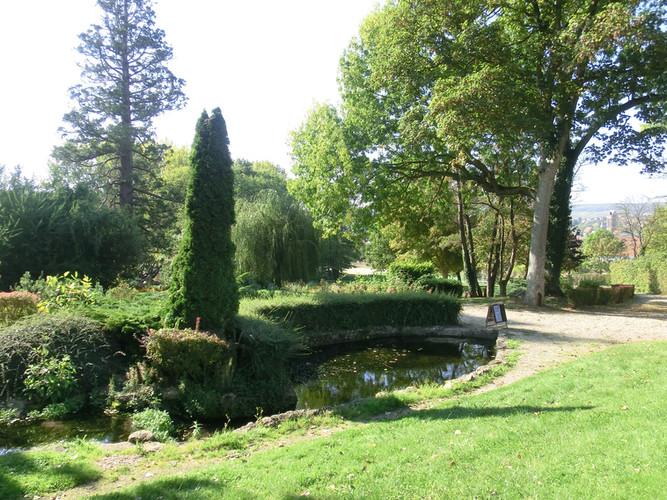 Le Moulin, côté parc.