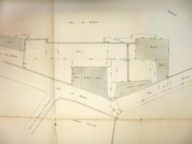 Plan du Moulin et de ses dépendances