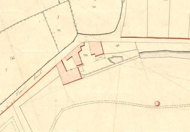 Moulin et ses abords 1831