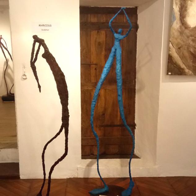 Salon d'Automne 2019 Sculpteur Marcoss.j