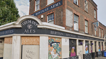 Montague Arms, Queens Road / Kender Street