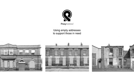 Today, ProxyAddress was launched to give homeless people a fixed address in Lewisham
