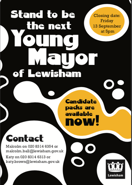 Fancy being the next Lewisham Young Mayor?
