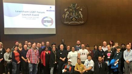 Lewisham LGBT Forum - formal launch